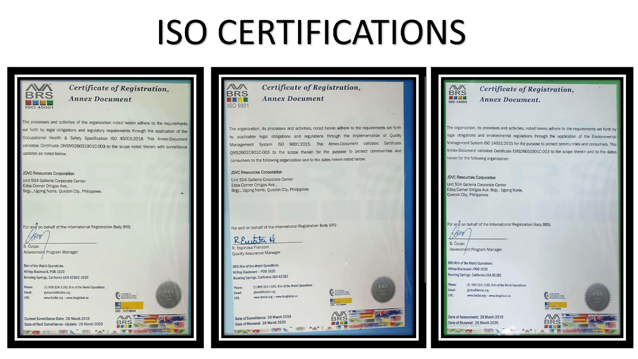 ISO Certifications3